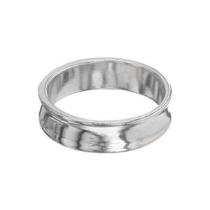 SR5917: Concave Finger Ring Band