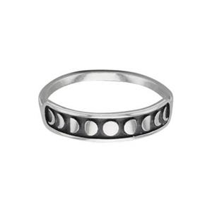 SR637: Phases of the Moon Finger Ring