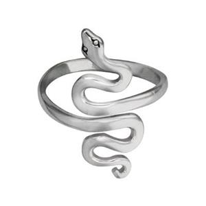 SR76: Snake Adjustable Finger Ring