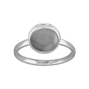 SRBZ108: Bezel Cup Finger Ring