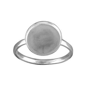 SRBZ128: Bezel Finger Ring