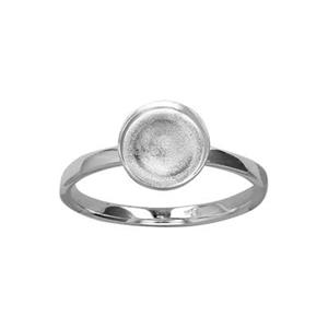 SRBZ87: Bezel Finger Ring