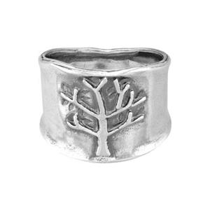 SRH127: Wide Tree Finger Ring
