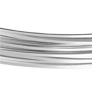 SSQ20GA: Sterling Silver 20 Gauge Half Hard Square Bulk Wire