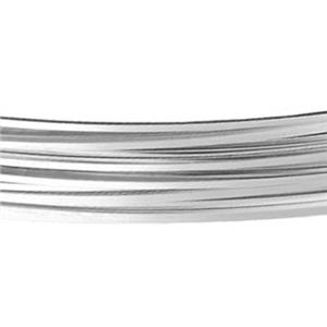 SSQ21SOFT: Sterling Silver 21 Gauge Soft Square Bulk Wire