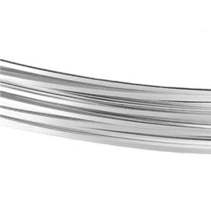 SSQ22GA: Sterling Silver 22 Gauge Half Hard Square Bulk Wire