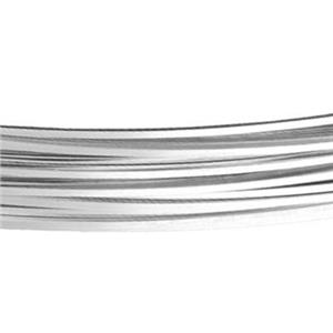 SSQ22SOFT: Sterling Silver 22 Gauge Soft Square Bulk Wire