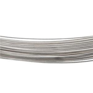 SW26H-10: Sterling Silver 10ft Pre-Cut Coil Hard Wire