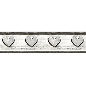 SWG1904: Sterling Silver Heart Pattern Wire