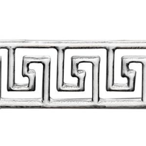 SWG1956: Sterling Silver Greek Pattern Wire
