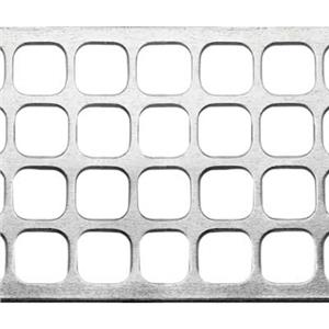SWG317: Perforated Square Cut Out Pattern Mesh Sheet