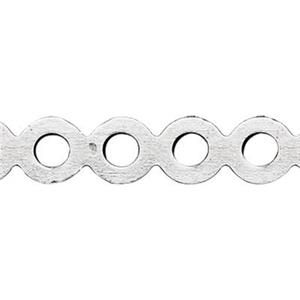 SWG340: Sterling Silver Perforated Pattern Wire