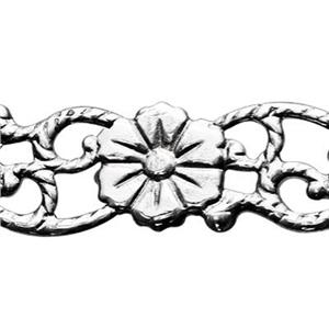 SWG516: Sterling Silver Flower Pattern Wire