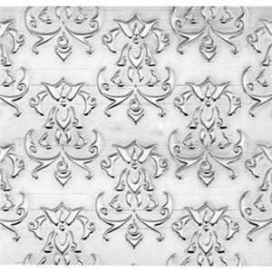 SWS2692: 3in, 23ga Floral Pattern Sheet