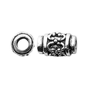 TK291163: Sterling Silver Fancy Tube Bead