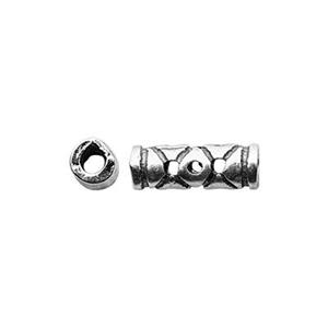 TK291415: Sterling Silver Eye Design Tube Bead