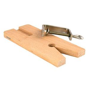 X115: Classic V-Slot Wooden Bench Pina and Clamp