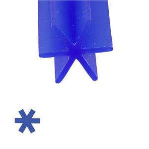 X2848: 6pc, 8mm 6 Prong Blue Ferris Cowdery Wax, 5in length