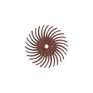 X585: 220 Grit Red Radial Bristle