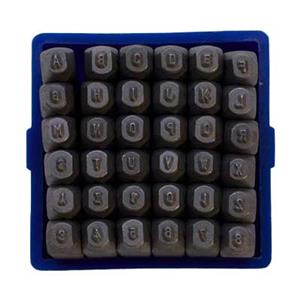 X595: 1.5mm Number and Letter Metal Stamps   Halstead