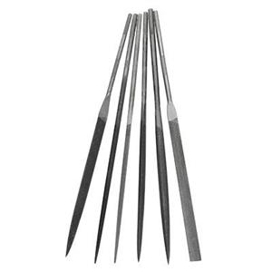 X913: 6 piece Relentless Needle File Set, Cut 0