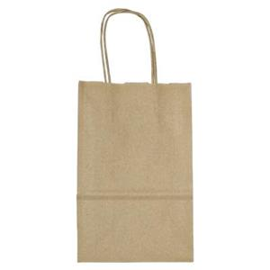 ZK58T: Kraft Brown Paper Tote Bags