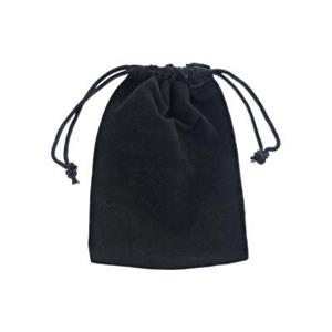 ZL34J: Black Velour Gift Bag